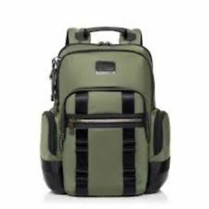 Tumi Alpha Bravo Nellis Laptop Business Casual Backpack Tundra Green 232681