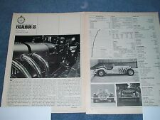 """1966 Excalibur SS Vintage Road Test Article """"In your Heart, You Know it's Right"""""""