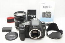 Canon EOS 7D 18.0MP Digital SLR Camera Black Body w/ EF-S 18-200mm IS #210205a
