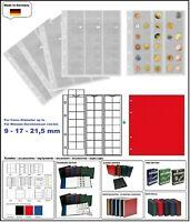 10 LOOK 301127 MÜNZHÜLLEN NUMOH 17 NH48 48 Fächer bis max 17 - 21,5 mm + ZWL-R