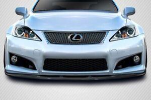 08-14 Lexus IS-F Luxion DriTech Carbon Fiber Front Bumper Lip Body Kit!!! 114336
