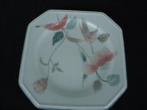 mikasa continental silk flowers   f 3303  bread & butter plate