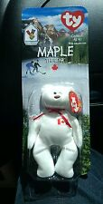 Maple the Bear Rare Limited Edition Vintage Beanie Baby