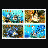 "Palau 2009 - WWF ""Fish"" Marine Life - Sc 992 MNH"
