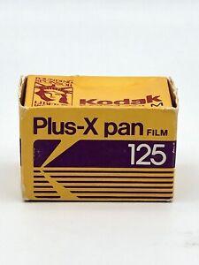 Vintage Kodak Plus-X Pan 125 Black & White PX 135-24, 24 Exposure, Expired 1989