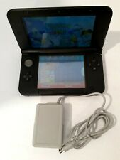 Nintendo 3DS XL Handheld System - Black with Charger& Starwars & preloaded games