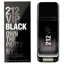 212 VIP BLACK By Carolina Herrera (M) Eau de Parfum 3.4 oz Spray