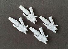 4 Tau Commander Crisis Suit Airbursting Fragmentation Projector  40k