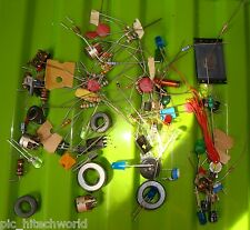 Joule Thief DIY component kit - Transistor, LED, inductor, ferrite core