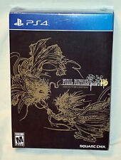 Final Fantasy Type-0 HD Collector's Edition PS4 Art Book Cards CD Soundtrack NEW