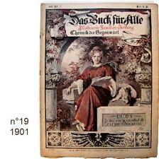Das Buch für Alle n°19/1901 Illustrierte Familien-Zeitung journaux anciens
