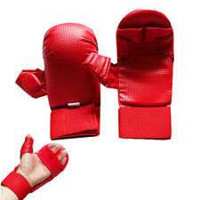 Karate Gloves Sparring Mitts Competition Training Martial Arts Punching Bag
