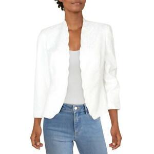 Kasper Womens Open Front Business Work Wear Blazer Jacket Petites BHFO 5552