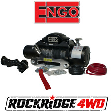 "Engo SR10S Electric 10k Synthetic Rope Winch 3/8 X 85""  & ALUMINUM FAIRLEAD New"
