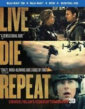 Live Die Repeat Edge of Tomorrow (blu-ray 3d Blu-ray DVD UltraViolet Comb