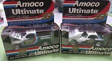 AMOCO ULTIMATE DIE CAST CARS 1:64 SET OF 2, #93 , RACING CHAMPIONS, VINTAGE, NEW