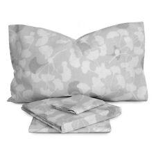 Completo lenzuola Ginko puro cotone per letto Matrimoniale S727