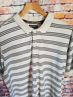Mens vintage RALPH LAUREN CHAPS Polo Shirt XL. Vintage / Retro classic.