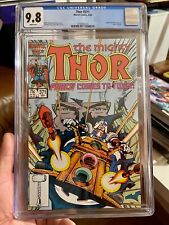 THOR 371  CGC 9.8  WHITE PAGES  1st Appearance Justice Peace TVA Loki Disney +