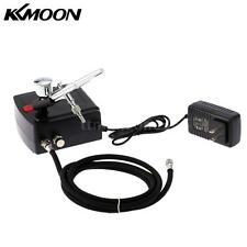 100-250V Gravity Feed Airbrush Air Compressor Kit for Art Painting US Plug D0K0