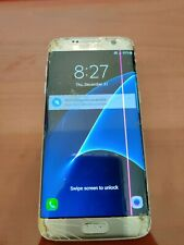 Samsung Galaxy S7 edge SM-G935A - 32GB - Silver Titanium (AT&T) FOR PARTS ONLY!!