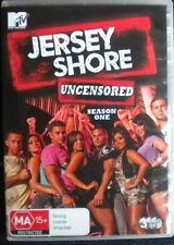 JERSEY SHORE UNCENSORED SEASON ONE,DVD,3 DISC SET,USED,VERY GOOD CONDITION