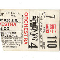 NRPS Concert Ticket Stub ST LOUIS 5/4/74 AMBASSADOR THEATRE GRATEFUL DEAD Rare