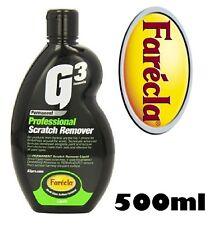 Farecla 500ml G3 PROFESIONAL Removedor De Rayones Líquido COCHE MOTO