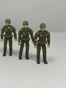 GI Joe 1994 Action Soldier 30th Anniversary lot x3 Army Builder Key Chain Hooks
