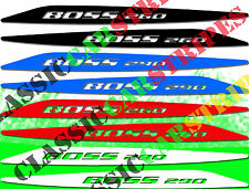 Boss 260 or 290 Colour Vinyl Decal-ford Falcon Ba-bf Xr8 Bonnet Buldge Stickers