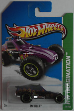 Hot Wheels-Enforcer violettmet. Nouveau/Neuf dans sa boîte US-Card