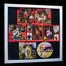 IRON MAIDEN+1st+Debut+GALLERY QUALITY FRAMED+EXPRESS GLOBAL SHIPPING+Not Signed