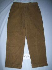 Mens Daniel Cremieux Corduroy Pants Size 36 30 Brown Free Shipping -0812F84