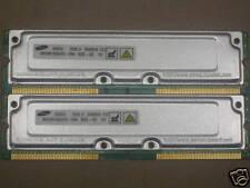 512MB 2x256MB for Dell Dimension 8100 8200 8250 RDRAM Rambus Rimm 800-40 40ns
