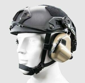 OPSMEN EARMOR Tactical Helmet Electronic Hearing Protector M31H MOD3 - TAN *