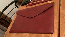 vintage vinyl file folder RCA logo Dark Red Color Office Business Collectible