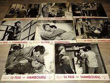 LA FILLE DE HAMBOURG y allegret daniel gelin photos cinema lobby cards 1958