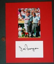 1988-91 Boston Red Sox Manager Joe Morgan signed autograph & photo set-VINTAGE!