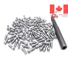 Tire Studs for Car 12mm Carbide Screw Tire Studs Snow Spikes Anti-Slip Anti-i...