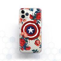 Captain America Phone Case iPhone 11 Pro X Xr Xs Max SE 2020 8 7 6s Plus 5 Cover