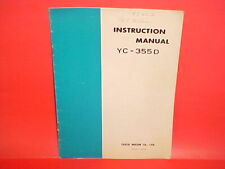 YEASU FREQUENCY COUNTER ORIGINAL FACTORY INSTRUCTION OWNERS MANUAL MODEL YC-355D