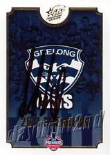 ✺Signed✺ 2011 GEELONG CATS AFL Premiers Card CHRIS SCOTT