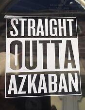 Straight Outta AZKABAN Compton Style Sticker Decal Harry Potter