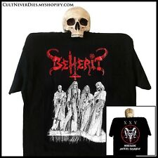 BEHERIT official 'The Oath Of Black Blood' shirt (sizes S-XXL) [Black Metal]