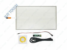"17.1"" 4 Wire Resistive Touch Screen Panel 16:10 USB Kit DIY 17inch Touch Monitor"