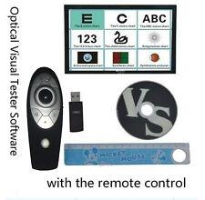 Gráfico Proyector vista visión Visual Tester Software @ Control Remoto cp-27b