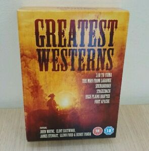 Greatest Westerns (6 DVDs) Stagecoach, High Planes Drifter, 3:10 - NEW & Sealed