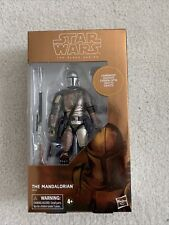 "The Mandalorian STAR WARS The Black Series 6"" Hasbro #94 Carbonized"