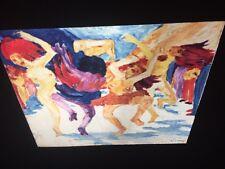 "Emil Nolde ""Golden Calf"" Danish German Expressionist Die Brucke Art 35mm Slide"