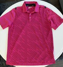 Mens Nike Golf Shirt, Large, Pink